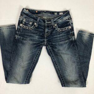 Miss Me Skinny Jeans Sz 24
